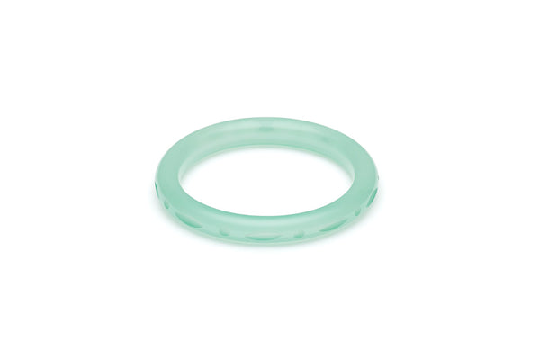 Narrow Mint Sorbet Fakelite Maiden Bangle