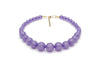 Wide Parma Violet Fakelite Duchess Bangle