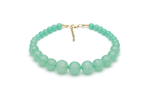 Mint Sorbet Bead Necklace