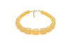 Sherbet Fakelite Hoop Earrings