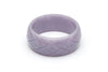 1940s Style Wide Larger Size Bangle in Lilac Fakelite