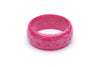 1950s Style Bangle in Wide Candy Pink