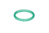 Narrow Green Lagoon Glitter Bangle