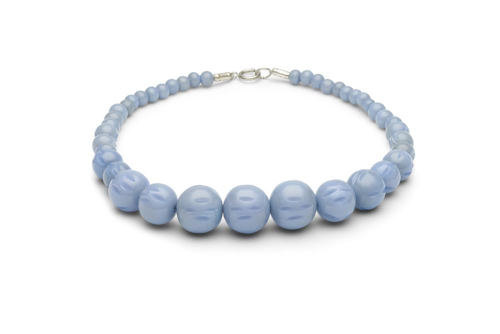 Wide Bluebell Fakelite Duchess Bangle