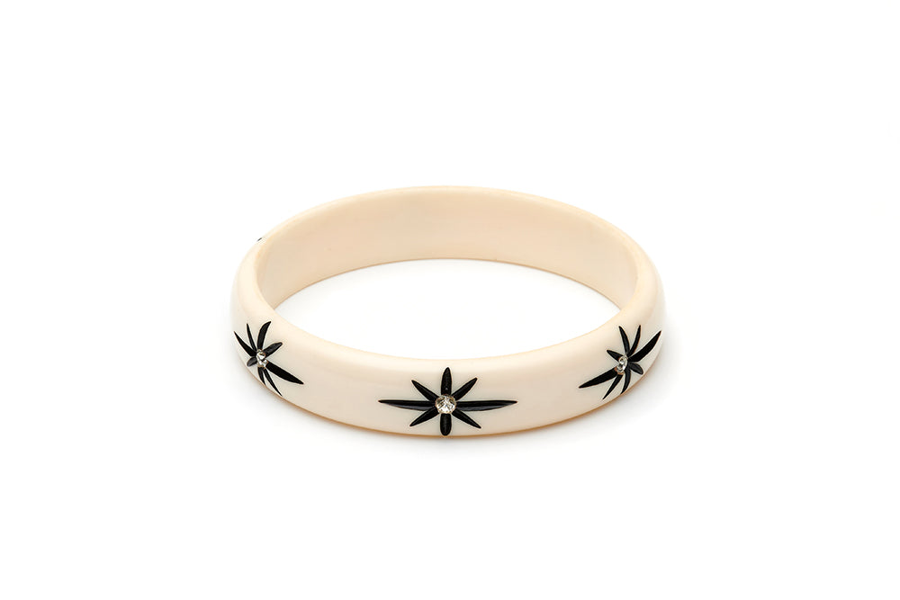 Midi Ivory Starburst Duchess Bangle