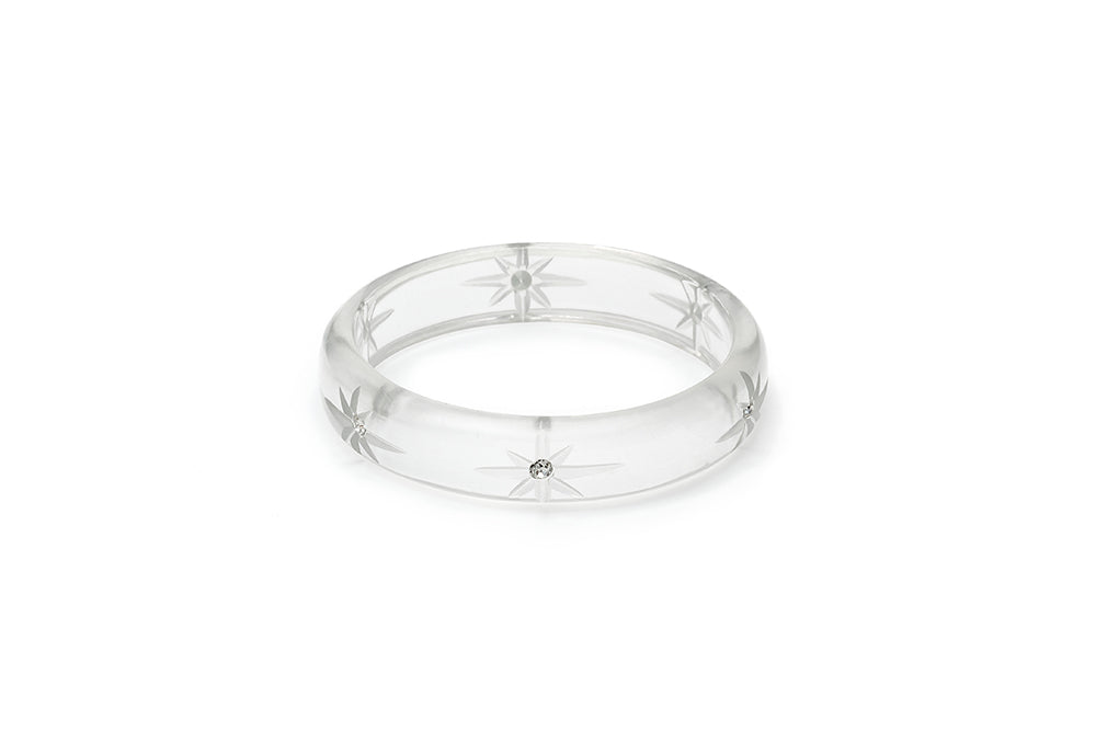 Midi Clear Starburst Maiden Bangle