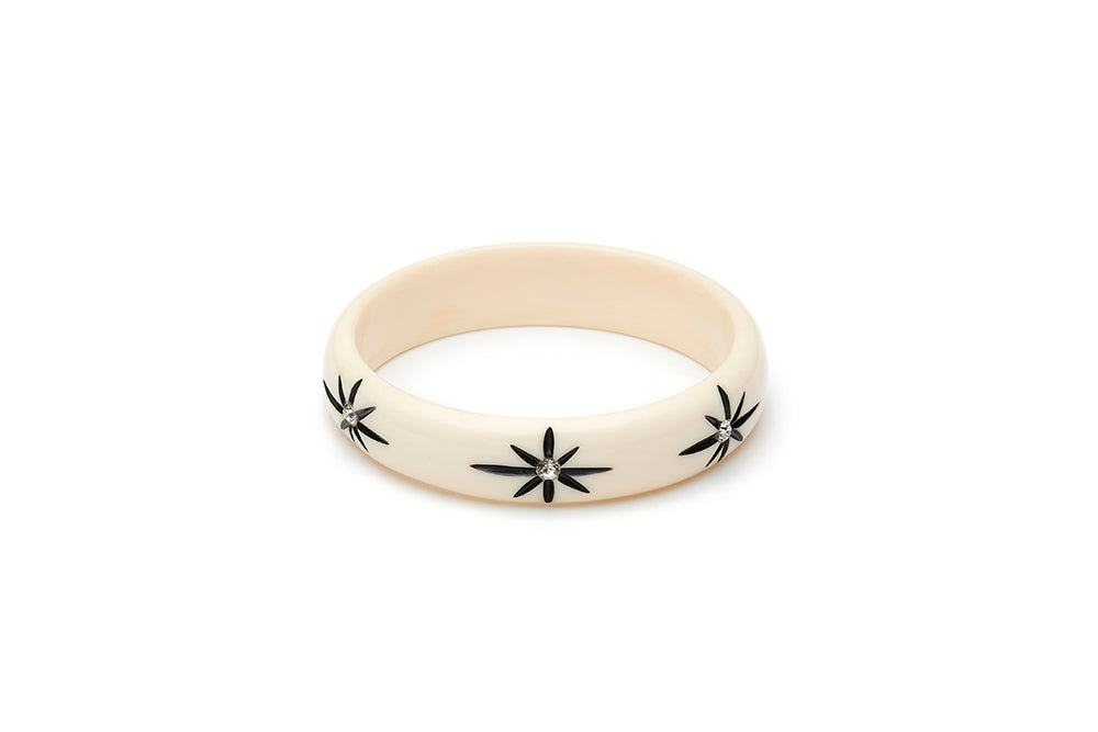 Midi Ivory Starburst Maiden Bangle