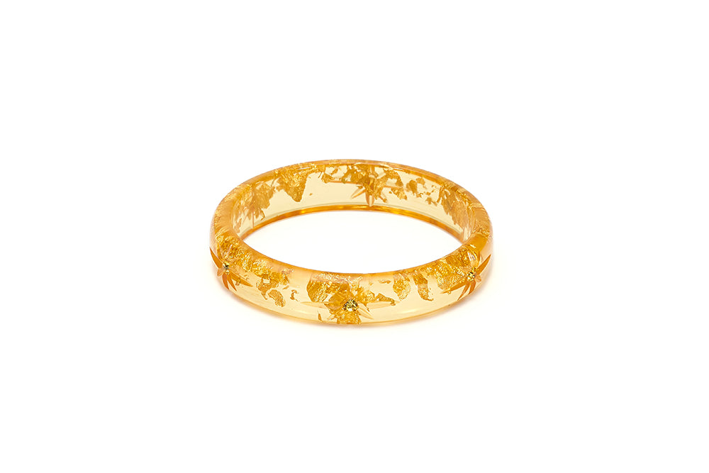 Midi Gold Foil Starburst Maiden Bangle