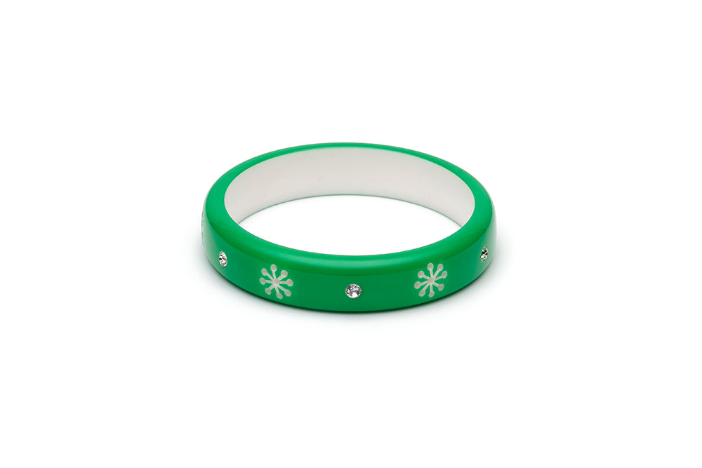 Garland Green Midi Atomic Snowflake Maiden Bangle