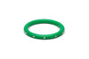 Narrow Green Diamante Bangle