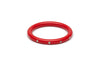 Narrow Red Diamante Bangle