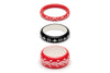 Lover and Hater Set of 3 Maiden Bangles