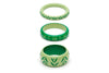Spring and Summer Set of 3 Maiden Bangles