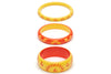 Sunrise and Sunset Set of 3 Duchess Bangles