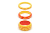 Sunrise and Sunset Set of 3 Maiden Bangles