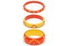 Sunset and Sunrise Set of 3 Duchess Bangles