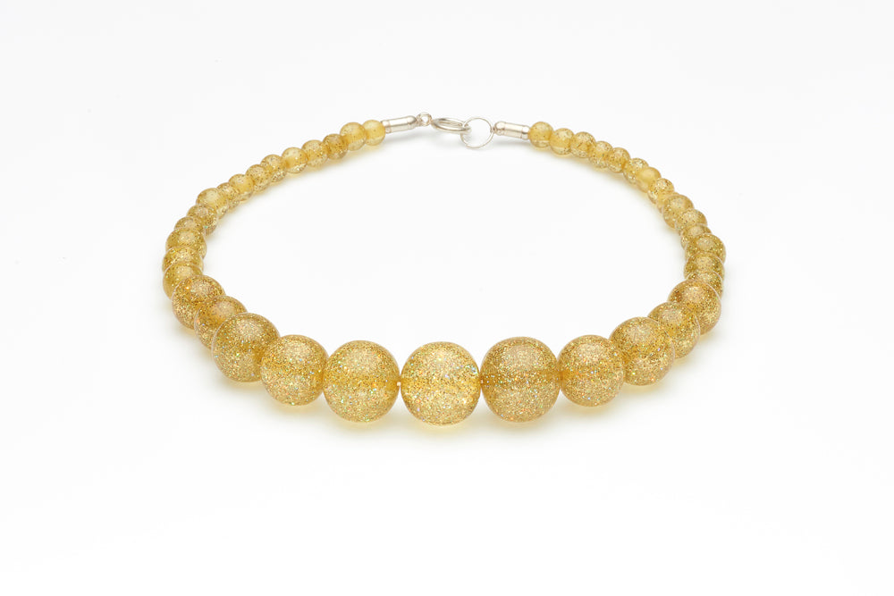 New Pale Gold Glitter Bangle