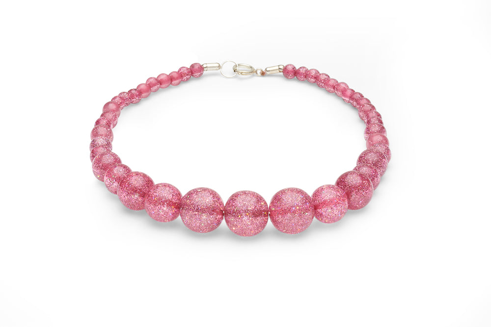 New Pale Pink Glitter Duchess Bangle