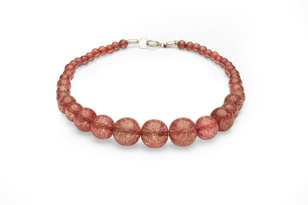 New Peachy Glitter Duchess Bangle