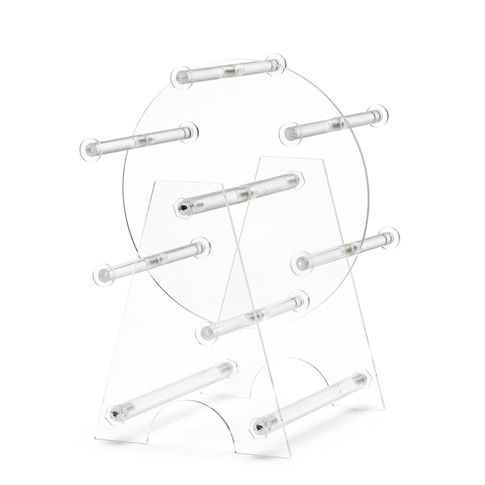 Clear Acrylic Revolving Bangle Stand