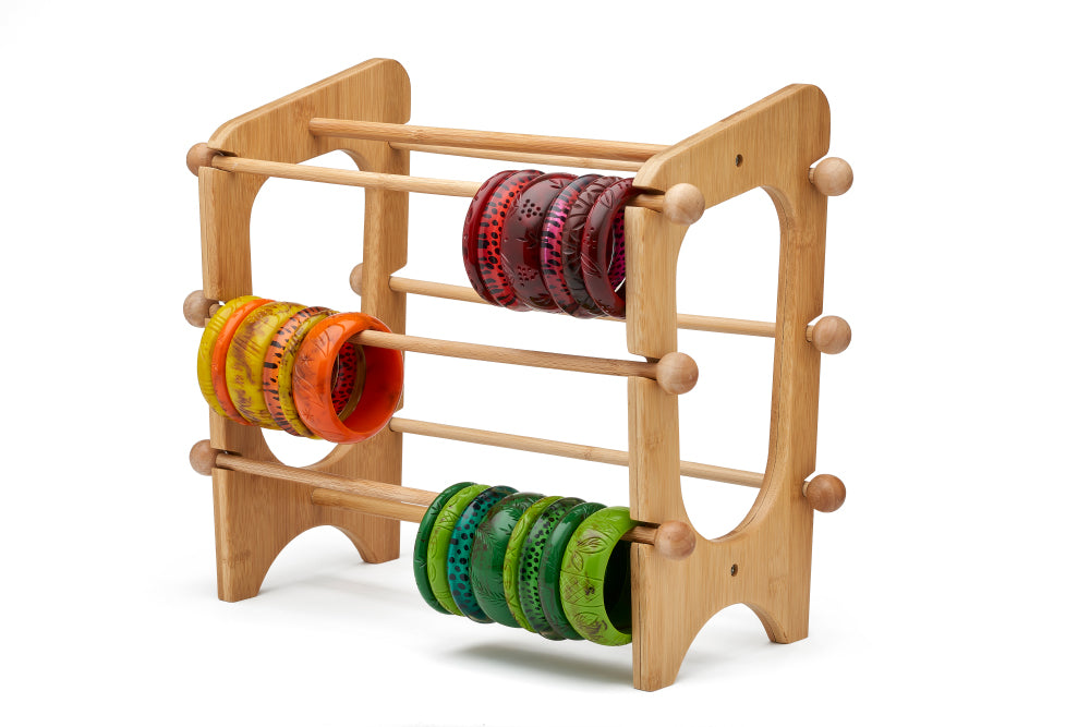 Atomic Bamboo Bangle Stand