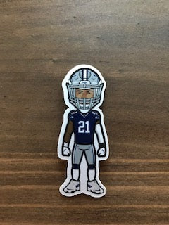 Ezekiel Elliot Sticker