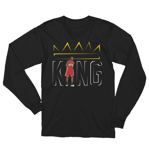 Throwback King Unisex Long Sleeve T-Shirt