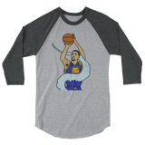 Splash Bro 3/4 sleeve raglan shirt