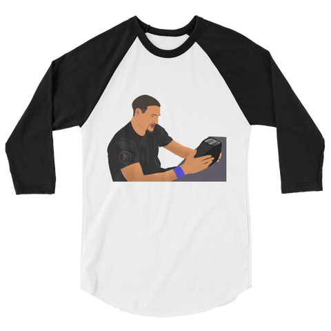 Undefeated Toaster 3/4 sleeve raglan shirt