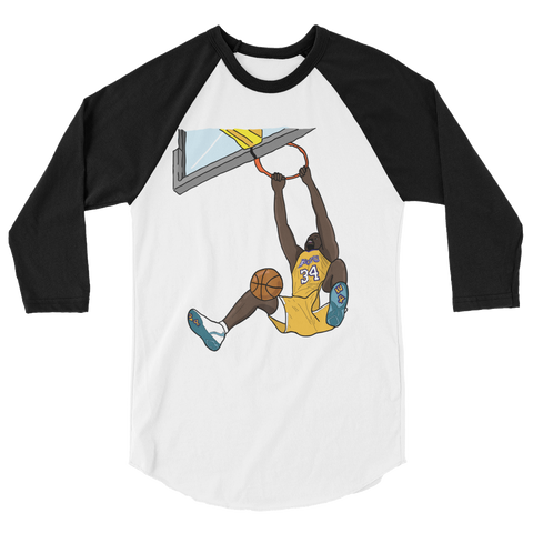 Rim Crusher 3/4 sleeve raglan shirt
