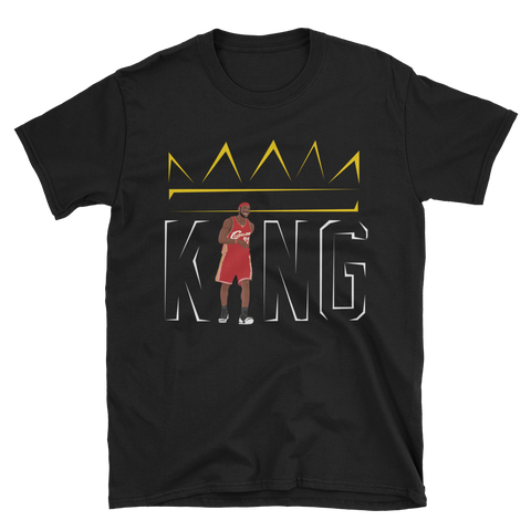 Throwback King Short-Sleeve Unisex T-Shirt