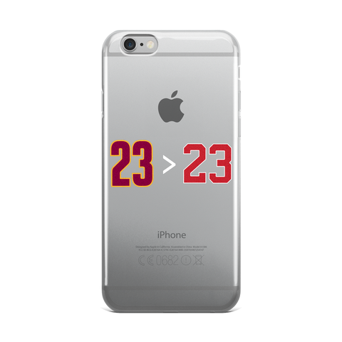 23>23 iPhone 5/5s/Se, 6/6s, 6/6s Plus Case