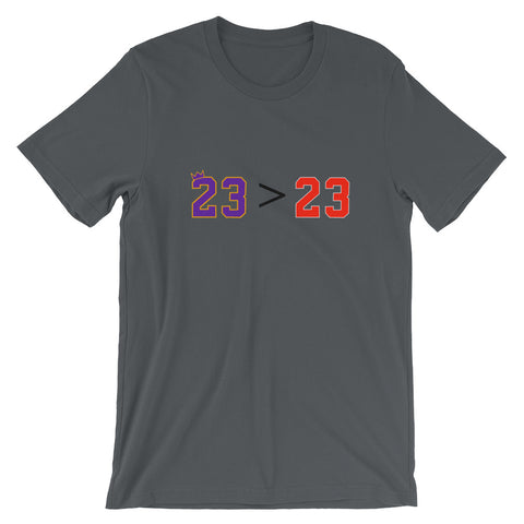 23 > Short-Sleeve Unisex T-Shirt