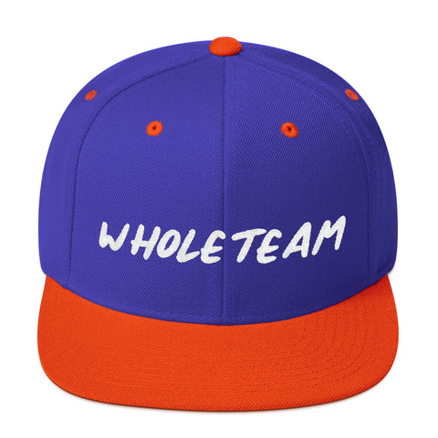 Whole Team Snapback Hat