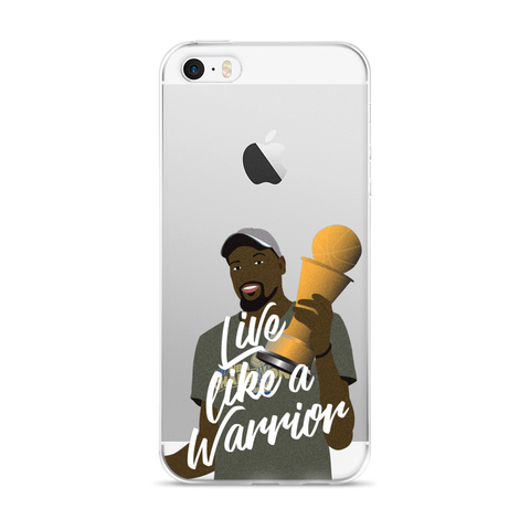 Live Like A Warrior iPhone 5/5s/Se, 6/6s, 6/6s Plus Case