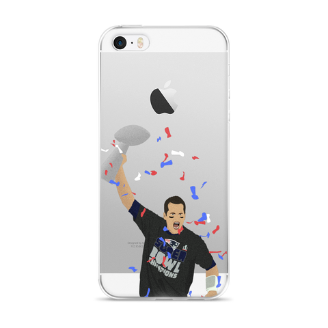 Champs! iPhone 5/5s/Se, 6/6s, 6/6s Plus Case