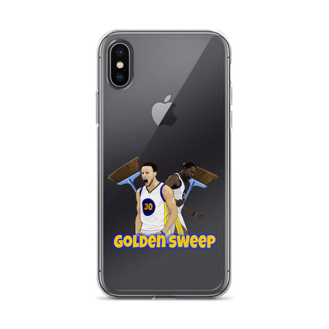 Golden Sweep iPhone Case