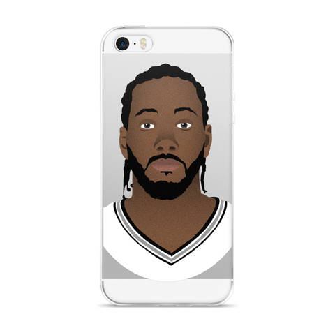 Kawhi So Serious? iPhone 5/5s/Se, 6/6s, 6/6s Plus Case