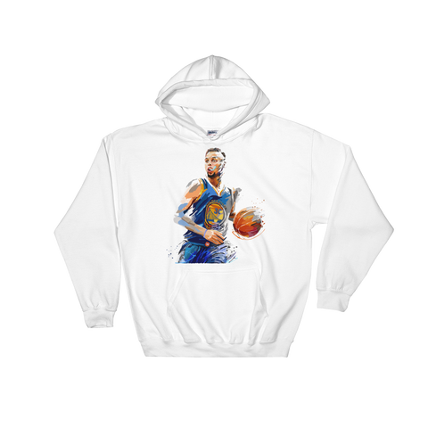 Curry Paint Hooded Sweatshirt