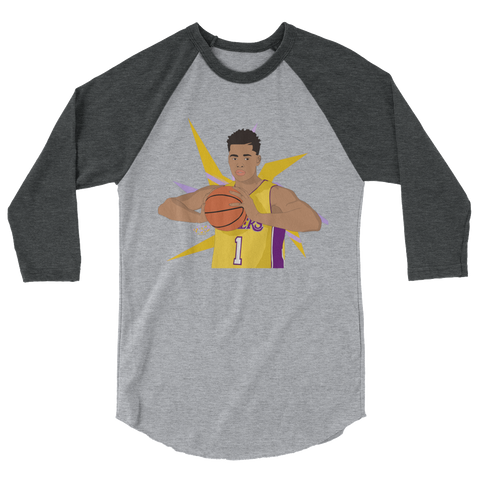 Star PG 3/4 sleeve raglan shirt