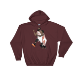 The Bearded Man Hooded Sweatshirt
