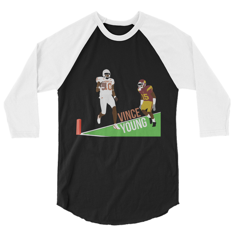 Rose Bowl '05 3/4 sleeve raglan shirt