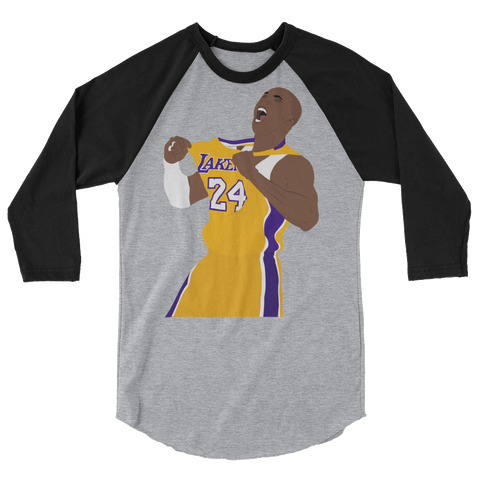 KB24 3/4 sleeve raglan shirt