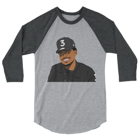 Chano 3/4 sleeve raglan shirt