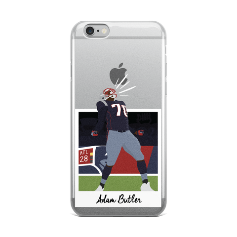 Adam Butler iPhone Case