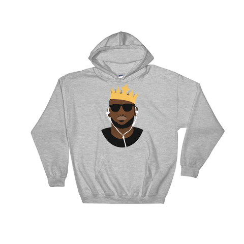 The King's Crown Hooded Sweatshirt