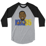 KD35 3/4 sleeve raglan shirt