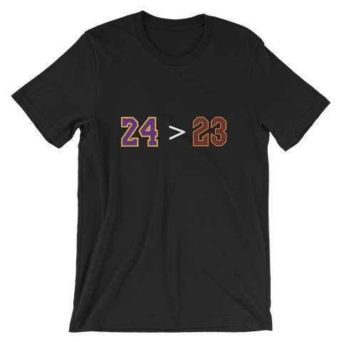 24 > 23 - Short-Sleeve Unisex T-Shirt