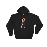 Bald Block Hooded Sweatshirt