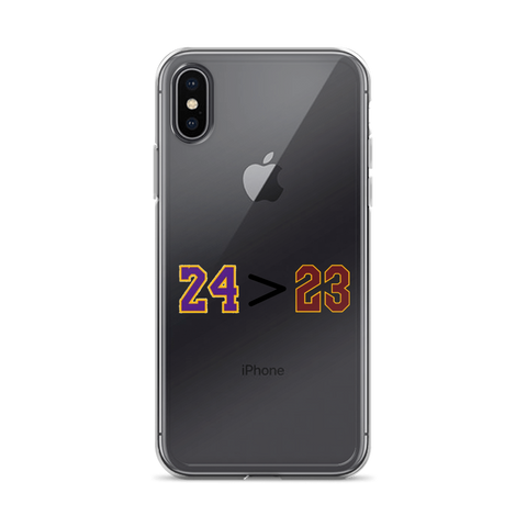 24 > 23 - iPhone Case